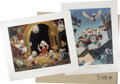 Memorabilia:Disney, Carl Barks Deluxe Lithograph Collection (Another Rainbow).... (Total: 34 Items)