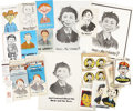 Memorabilia:MAD, Non-Mad Alfred E. Neuman Memorabilia Group (1940s-60s).... (Total:21 Items)