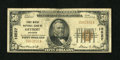National Bank Notes:Michigan, Detroit, MI - $50 1929 Ty. 1 First Wayne NB Ch. # 10527. ...