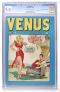 "Golden Age (1938-1955):Romance, Venus #5 Davis Crippen (""D"" Copy) pedigree (Atlas, 1949) CGC VF/NM9.0 Off-white to white pages. ..."
