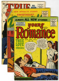 Golden Age (1938-1955):Romance, Miscellaneous Golden Age Romance Group (Various Publishers, 1950s)Condition: Average VG+.... (Total: 15 Comic Books)