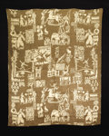 """Rugs & Textiles:Tapestries, RUTH REEVES (American, 1892-1966). """"Circus"""" A Screenprint on LinenTapestry, manufactured by National Silk Dyeing Company, 1..."""