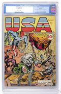 Golden Age (1938-1955):Superhero, USA Comics #1 Rockford pedigree (Timely, 1941) CGC VF/NM 9.0 Off-white pages....