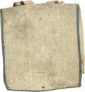 Military & Patriotic:Civil War, Outstanding Gutta Purcha Knapsack, in incomparable condition. ...