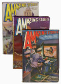 Pulps:Science Fiction, Amazing Stories Group (Ziff-Davis, 1936-38) Condition: Average VF.... (Total: 14 Items)