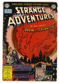 Golden Age (1938-1955):Science Fiction, Strange Adventures #2 (DC, 1950) Condition: GD+....