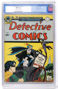 Golden Age (1938-1955):Superhero, Detective Comics #80 Double Cover (DC, 1943) CGC NM+ 9.6 Off-white to white pages....