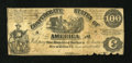 Confederate Notes:1861 Issues, T13 $100 1861.. ...