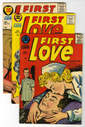 Silver Age (1956-1969):Romance, First Love Illustrated File Copy Group (Harvey, 1957) Condition:Average VF.... (Total: 9 Comic Books)