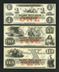 Obsoletes By State:New Hampshire, Rollinsford, NH- Salmon Falls Bank, NH $1; $5; $10. ... (Total: 3 notes)