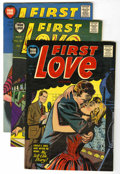 Golden Age (1938-1955):Romance, First Love Illustrated File Copy Group (Harvey, 1955-56) Condition:Average VF.... (Total: 9 Comic Books)