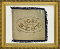 Military & Patriotic:Civil War, The Civil War Guide Flag of the 108th New York State Volunteer Infantry, as Carried by the Regiment at the Battle of Gettysbur...
