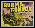 "Movie Posters:War, Burma Convoy (Universal, 1941). Lobby Card Set of 8 (11"" X 14"").War.... (Total: 8 Items)"