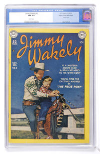 Jimmy Wakely #2 Mile High pedigree (DC, 1949) CGC NM 9.4 White pages