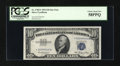 Small Size:Silver Certificates, Fr. 1706* $10 1953 Silver Certificate Star Note. PCGS Choice About New 58PPQ.. ...