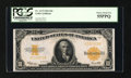 Large Size:Gold Certificates, Fr. 1173 $10 1922 Gold Certificate PCGS Choice About New 55PPQ....