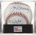"Autographs:Baseballs, Jim Bunning ""PG 6/21/64"" Single Signed Baseball, PSA Mint 9. ..."