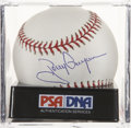 Autographs:Baseballs, Tony Gwynn Single Signed Baseball, PSA Mint+ 9.5. ...