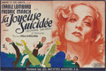 "Movie Posters:Comedy, Nothing Sacred (United Artists, 1937). French Double Panel (63"" X94"")...."