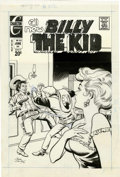 Original Comic Art:Covers, Jose Delbo Billy the Kid #102 Cover Original Art (Charlton,1973)....