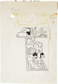 Original Comic Art:Covers, Warren Kremer Richie Rich Fortunes #1 Cover Original Art (Harvey, 1971)....