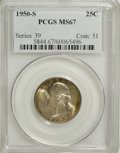 Washington Quarters, 1950-S 25C MS67 PCGS....