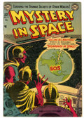 Golden Age (1938-1955):Science Fiction, Mystery in Space #13 (DC, 1953) Condition: VG+....
