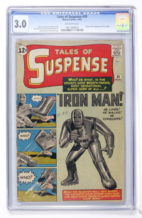 Tales of Suspense #39 (Marvel, 1963) CGC GD/VG 3.0 Off-white pages