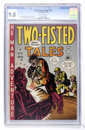 Golden Age (1938-1955):War, Two-Fisted Tales #19 (EC, 1951) CGC VF/NM 9.0 Off-white pages....