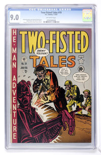 Two-Fisted Tales #19 (EC, 1951) CGC VF/NM 9.0 Off-white pages