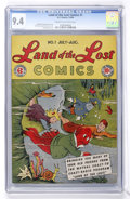 Golden Age (1938-1955):Humor, Land of the Lost Comics #1 (EC, 1946) CGC NM 9.4 Cream to off-white pages....
