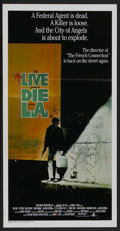 "Movie Posters:Action, To Live and Die in L.A. (MGM/UA, 1985). Australian Daybill (13.25""X 26""). Action...."