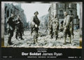 "Movie Posters:War, Saving Private Ryan (Paramount, 1998). German Lobby Card Set of 8 (8.25"" X 11.75""). War.... (Total: 8 Items)"