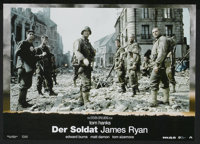 "Saving Private Ryan (Paramount, 1998). German Lobby Card Set of 8 (8.25"" X 11.75""). War.... (Total: 8 Items)"