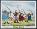 "Movie Posters:Animated, Robin Hood (Buena Vista, 1973). Lobby Cards (4) (11"" X 14"").Animated.... (Total: 4 Items)"