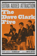 "Movie Posters:Rock and Roll, The Dave Clark Five (United Artists, 1965). One Sheet (27"" X 41"").Rock and Roll...."