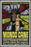"Movie Posters:Documentary, Mondo Cane (Times, 1963). One Sheet (27"" X 40.5""). Documentary...."