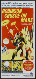 "Movie Posters:Science Fiction, Robinson Crusoe On Mars (Paramount, 1964). Australian Daybill (13.25"" X 30""). Science Fiction...."