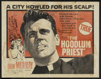 "The Hoodlum Priest (United Artists, 1961). Half Sheet (22"" X 28""). Drama"