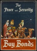 "Movie Posters:War, World War II Propaganda Poster (U.S.Treasury, Early 1940s). Poster(18.5"" X 26""). War...."