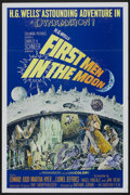 """Movie Posters:Science Fiction, First Men in the Moon (Columbia, 1964). One Sheet (27"""" X 41"""").Science Fiction...."""