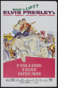"Movie Posters:Elvis Presley, Follow That Dream (United Artists, 1962). One Sheet (27"" X 41""). Elvis Presley...."