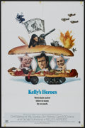 "Movie Posters:War, Kelly's Heroes (MGM, 1970). One Sheet (27"" X 41"") Style B. War...."