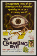 "Movie Posters:Science Fiction, The Crawling Eye (DCA, 1958). One Sheet (27"" X 41""). ScienceFiction...."