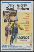 "Movie Posters:Mystery, Charade (Universal, 1963). One Sheet (27"" X 41""). Mystery...."