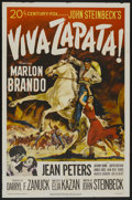 "Movie Posters:Drama, Viva Zapata! (20th Century Fox, 1952). One Sheet (27"" X 41"").Drama...."