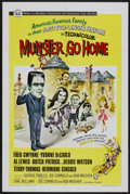 "Movie Posters:Comedy, Munster, Go Home (Universal, 1966). One Sheet (27"" X 41""). Comedy...."
