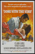 "Movie Posters:Academy Award Winner, Gone with the Wind (MGM, R-1968). One Sheet (27"" X 41""). AcademyAward Winner...."