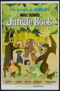 "Movie Posters:Animated, The Jungle Book (Buena Vista, 1967). One Sheet (27"" X 41""). Animated...."