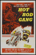 "Movie Posters:Cult Classic, Hot Rod Gang (American International, 1958). One Sheet (27"" X 41"").Cult Classic...."